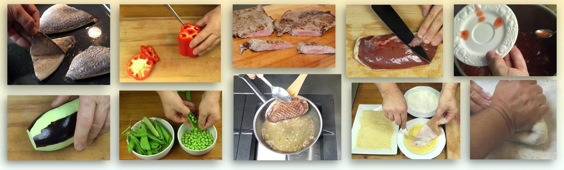 Die online-Kochschule