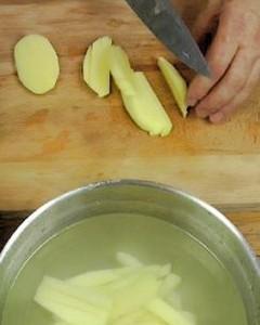 Frites-wasser