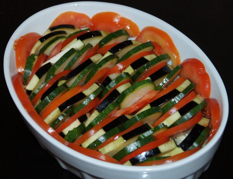 Tian Mit Kohlrabi Zucchini Und Feta Mediterrane Küche Schritt Für
